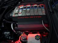C7 Corvette Stingray - Fuel Rail Lighting Kit 2Pc 2014-2017 (Blue)
