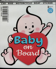 Baby on Board Die Cut HD