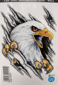 Eagle Ripping with Talons Decal
