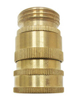 "Nozzle - Brass Quick Disconnect w/ 3/4"" GHT"