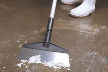 Stainless Steel Floor Scraper with 5 Ft. Ergo Handle