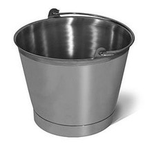 Bucket - 13 Quart Stainless Steel Pail