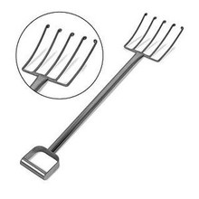 *Fork - Stainless Steel Cheese Fork with Curled End Tines