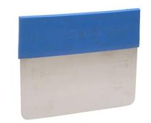 *Metal Detectable Scraper -Rigid SS Dough Cutter w/ Detect. Grip