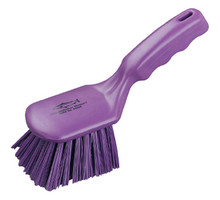 "Brush - Anti-Microbial 10"" Short Handled General Purpose Brush"