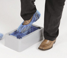 Automatic Shoe Cover Dispenser + 100 Shoe Covers - OUT OF STOCK
