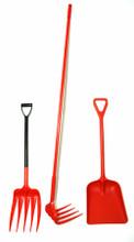 * Crush Pad Kit- (Unifork, Unirake & Shovel)