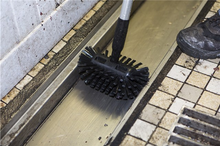 "Brush - 8"" Drain Brush With 53"" Handle"