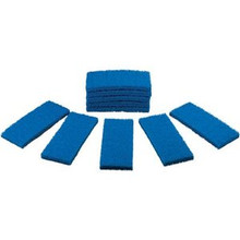 Remco / Vikan Medium-Duty Scrub Pads - 10/Pk