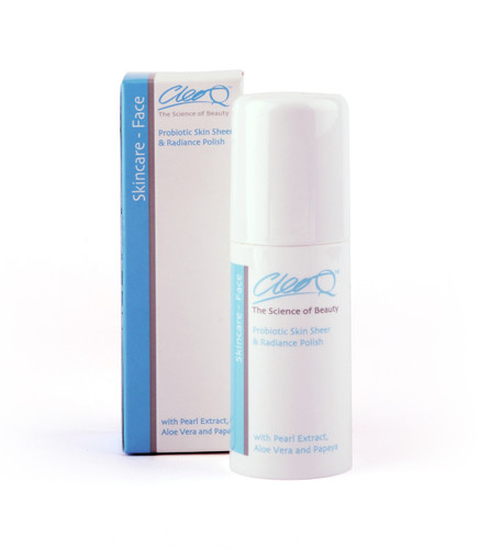 cleo probiotic skin sheer radiance polish exfoliator