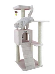 Cat Tree Furniture Condo - 57 Inches
