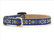 Aztec Blue  Cat Collar