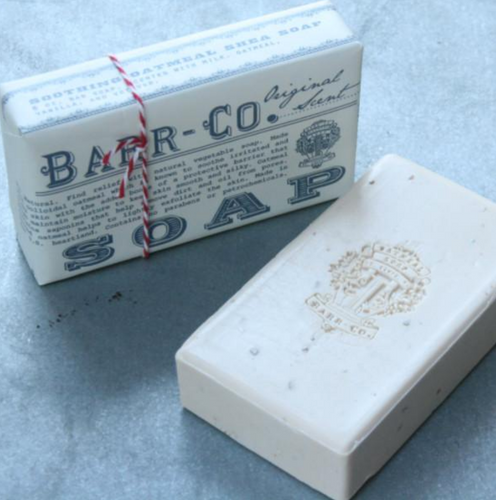 Barr-co original milk scent bar soap with shea butter and olive oil