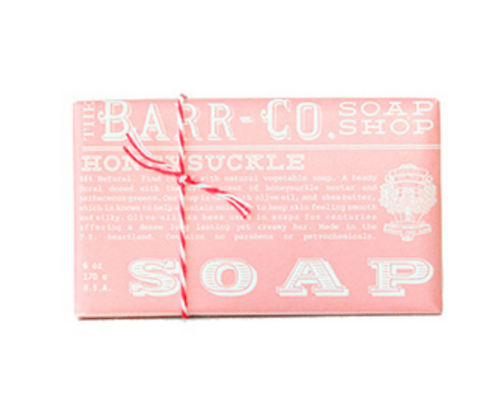 Barr-co Bar Soap - Honeysuckle