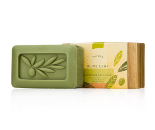 Thymes Bar Soap - Olive