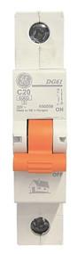 Miniature Circuit Breaker, 6ka, C Curve, Domestic Range