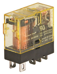 RELAY SLIM LINE, SPDT, 12A, WITH INDICATOR
