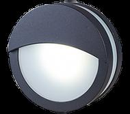 LED wall light round