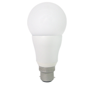 9W LED lamp, BC based, Dimmable