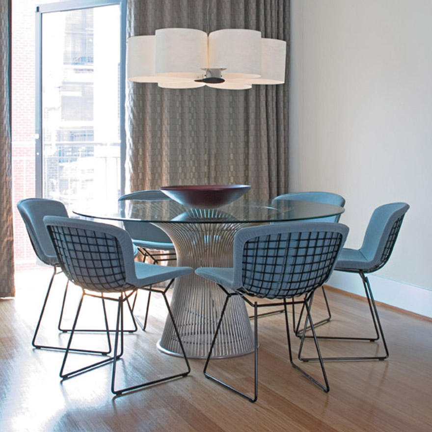 KnollStudio Bertoia Side Chair with Full Upholstery Cover  : platner dining table bertoia side chair 5596 z from officechairsusa.com size 880 x 880 jpeg 198kB