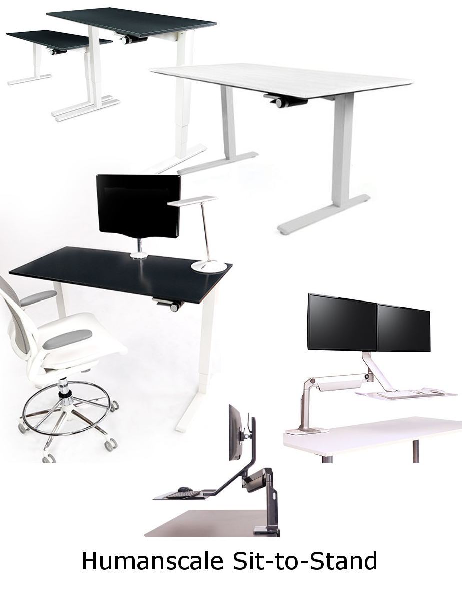 sittostand.png ergotoolscollage.png  sc 1 st  Office Chairs Usa & Humanscale Office Furniture | Ergonomic Office Design