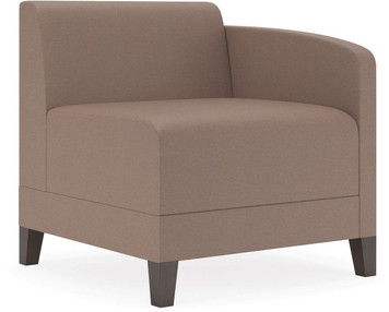 Lesro Fremont Soft Sit Modular Left Handed Guest Chair