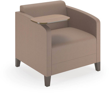 Fremont Guest Arm Chair Shown w/ Swing Away Swivel Tablet