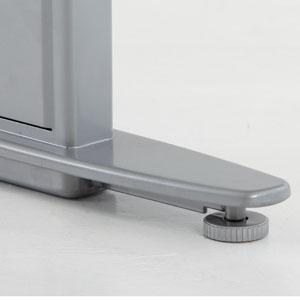 Adjustable floor glides