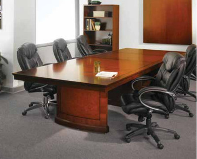 Sorrento Conference Table OfficeChairsUSA - Cherry conference room table