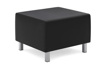 basyx by Hon Leather Modular Ottoman