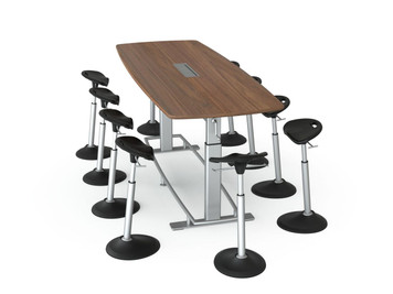 Focal Confluence 8' Conference Table Bundle
