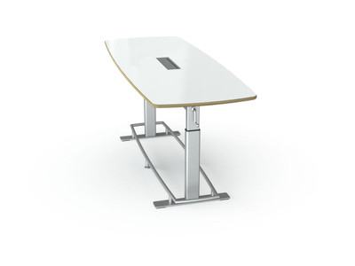 Focal Confluence 8' Conference Table with Dry Erase Top