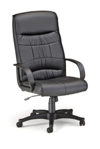 OFM Encore Leatherette High-Back Chair