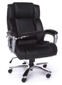 OFM ORO Executive Big and Tall Conference Chair with Tablet up