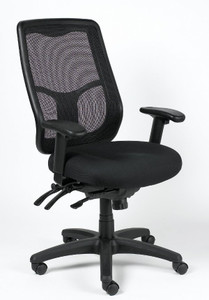 EuroTech Apollo Multi-Function with Ratchet High Back Chair
