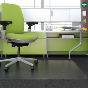 Charmant Deflecto SuperMat™ Medium Pile Frequent Use Chairmat