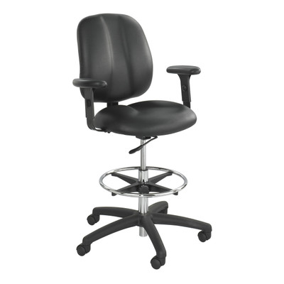 Extended Height Office Chair Ergonomic Adjustable Chair