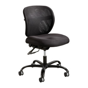 Vue™ Intensive Use Mesh Task Chair in Black Fabric