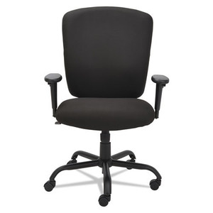 Mota Series Big and Tall Chair, Black Chair front view