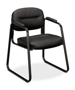 basyx by Hon SofThread Sled Base Guest Chair
