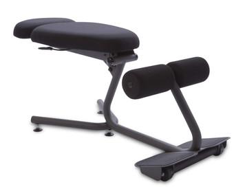 Standard kneeling chair configuration
