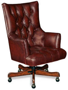 Luxurious leather in Rosewood