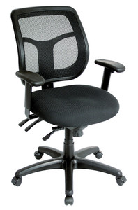 Adustable seat & back angles