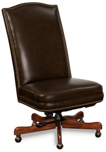 Premium leather in Saddle Brown