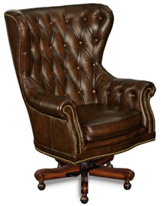Premium leather in Clove Brown