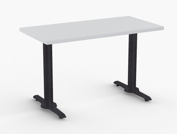 "Portofino Training Table in Grey Laminate 24""D x 60""W"