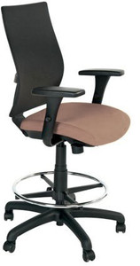 Shiloh Task with Upholstered Seat in System