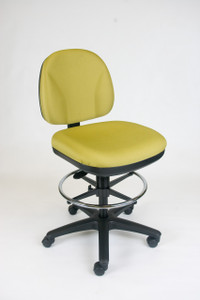 Basic Tasker Drafting Stool in Chlorine