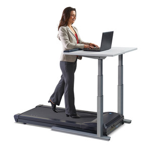 TR1200-DT7 Treadmill Desk with Sit-Stand Electronic Adjusting Height