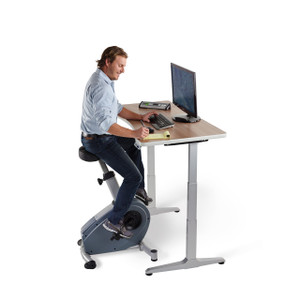 C3-DT3 Upright Bike and Console, desk sold separately